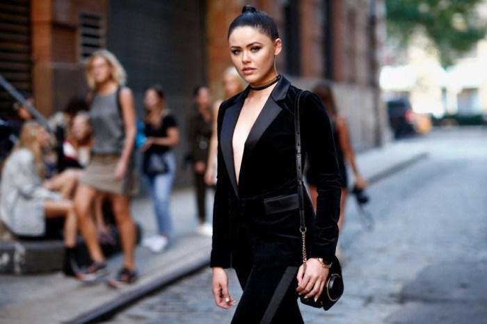 時尚部落客Kristina Bazan。