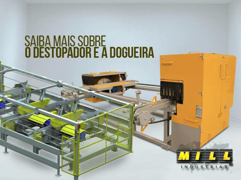 Saiba mais sobre o Destopador e a Dogueira – fundamentais para fabricar madeira para paletes e cercas