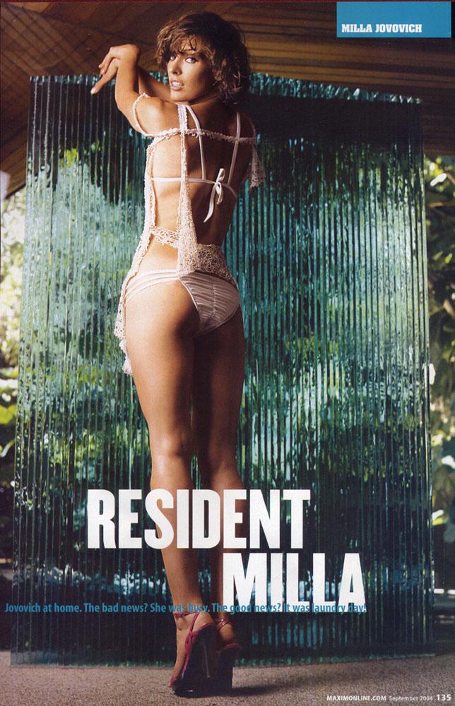 Millaj Com The Official Milla Jovovich Website What