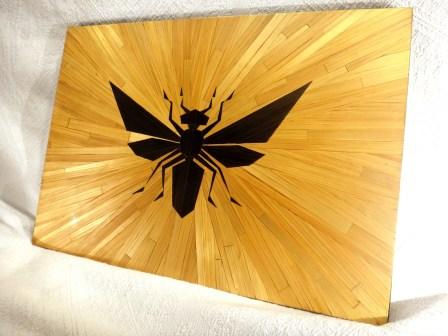 [Creation] La Reine de mouches - MArqueterie de Paille
