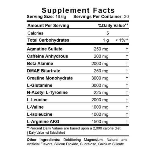 MILLETOV-Supplement-Facts
