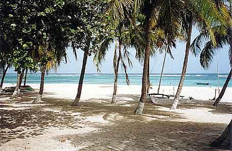La Desirade plage