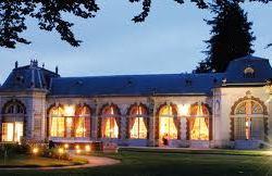 orangerie de l'abbaye royale de chaalis