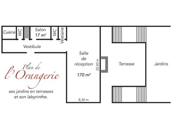 lorangerie plan_orangerie_chateau_de_breteuil plan_orangerie_chateau_de_breteuil - Chateau De Breteuil Mariage