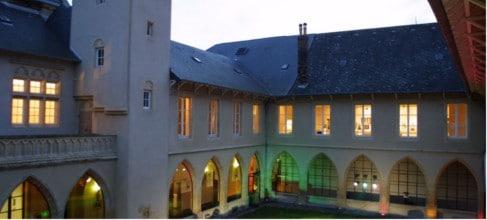 le cloître des trinitaires à Metz Moselle 57 Lorraine salle de mariage