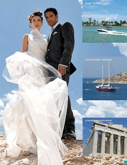 VOTAGE DE NOCES EN GRECE