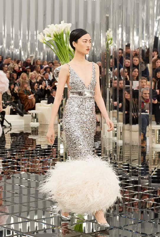 chanel défilé haute couture printemps été 2017