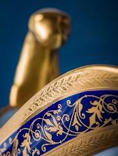 porcelaine-limoges-alain-babule-motif-bleu