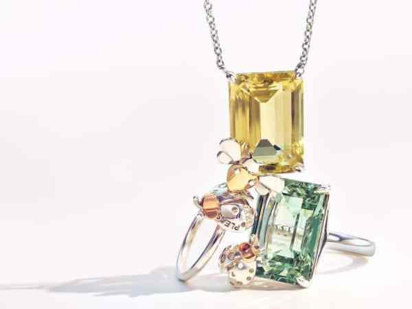 TIFFANY-CO.-RETURN-TO-TIFFANY-LOVE-BUGS-COLLECTION quartz jaune et vert