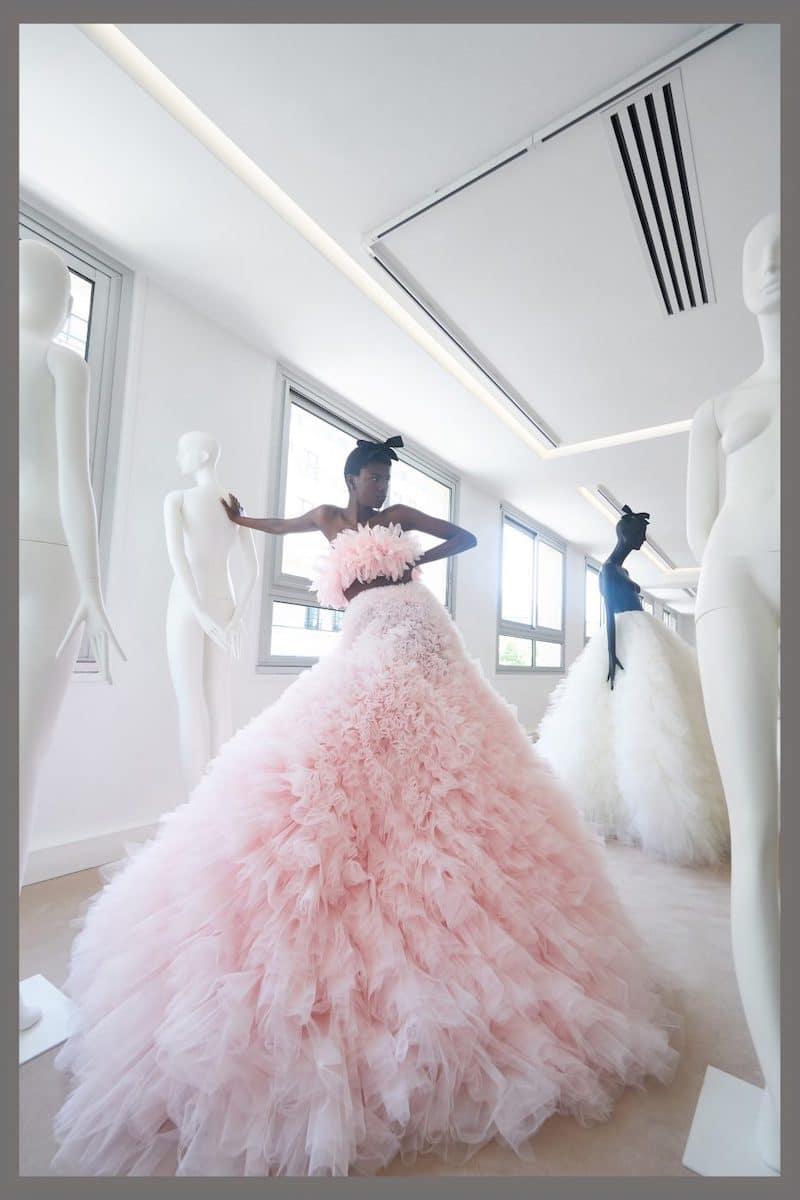 robe de mariée du soir de cocktail Giambattista Valli haute couture collection automne 2019 pour Mille Mariages robe n°14