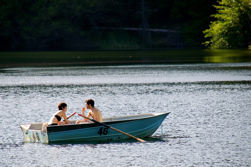 Help you row? I'm really more of an ideas person... Photo by Don DeBold @ Flickr