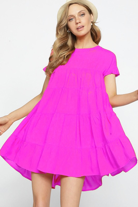 Summer-2020-Daring-Pink-Dress