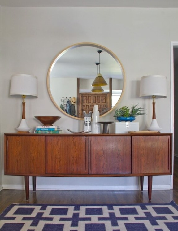credenza from Style by Emily Henderson