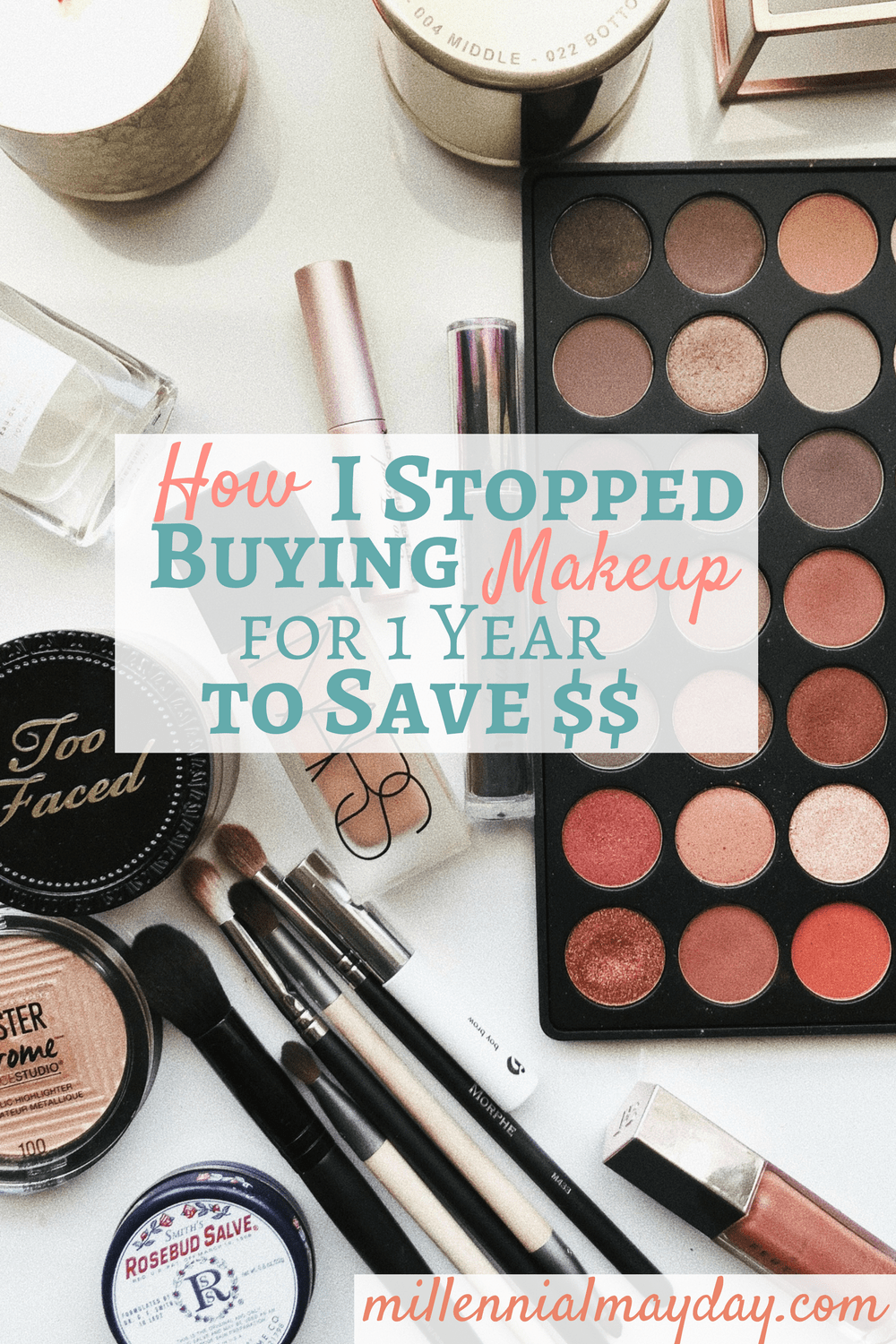 How much money does the average women spend on cosmetics every year?