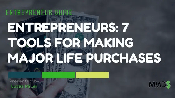 tools for making major life purchases