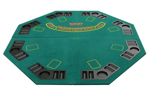 Foldable Ocatgon Blackjack U0026 Poker Table Top