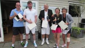 The 2015 Masters Winners - Woodfield Grove TC