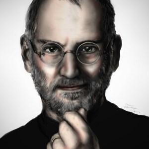 Steve Jobs Portrait 8.5 x 11 Print