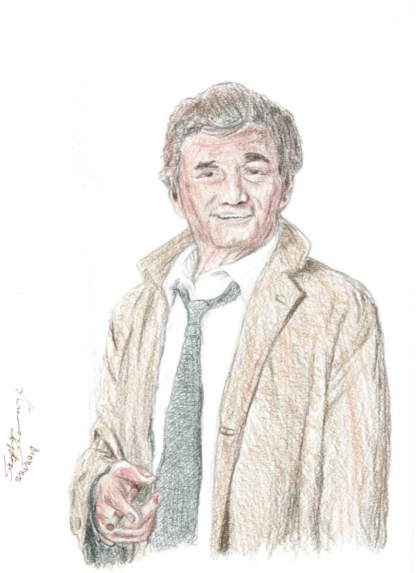 Portrait of Columbo