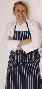 Mikael Andersen, kokk og gründer i Berlin. Foto: privat