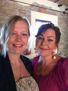 Mamma og meg i 2017. Foto: privat