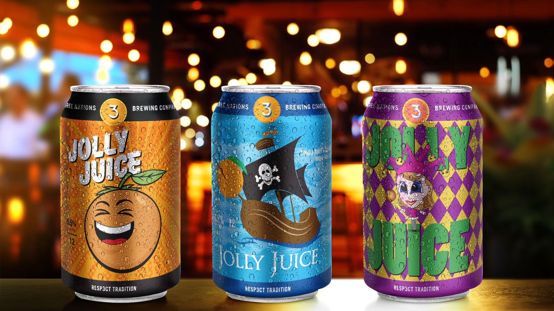 Can Designs: 3Nations Brewing Jolly Juice
