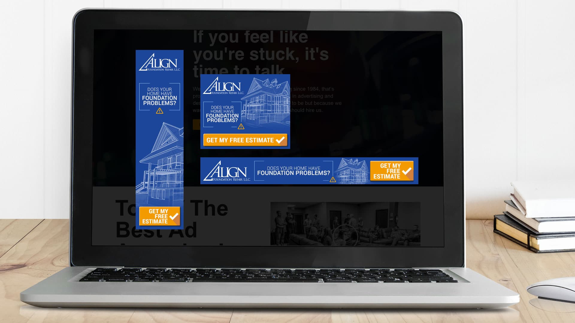 Web Banners: Align