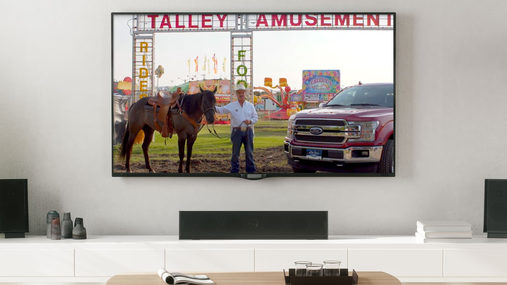 Television: Bill Utter Ford's Great American Tent Event