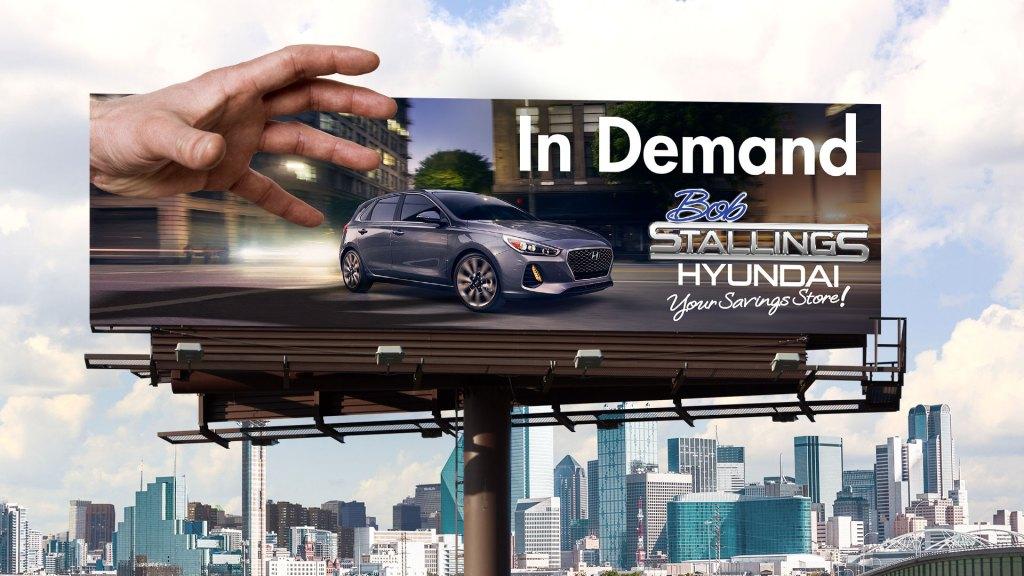 Bob Stallings Hyundai In Demand billboard