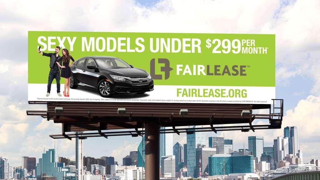 Fair Lease billboard