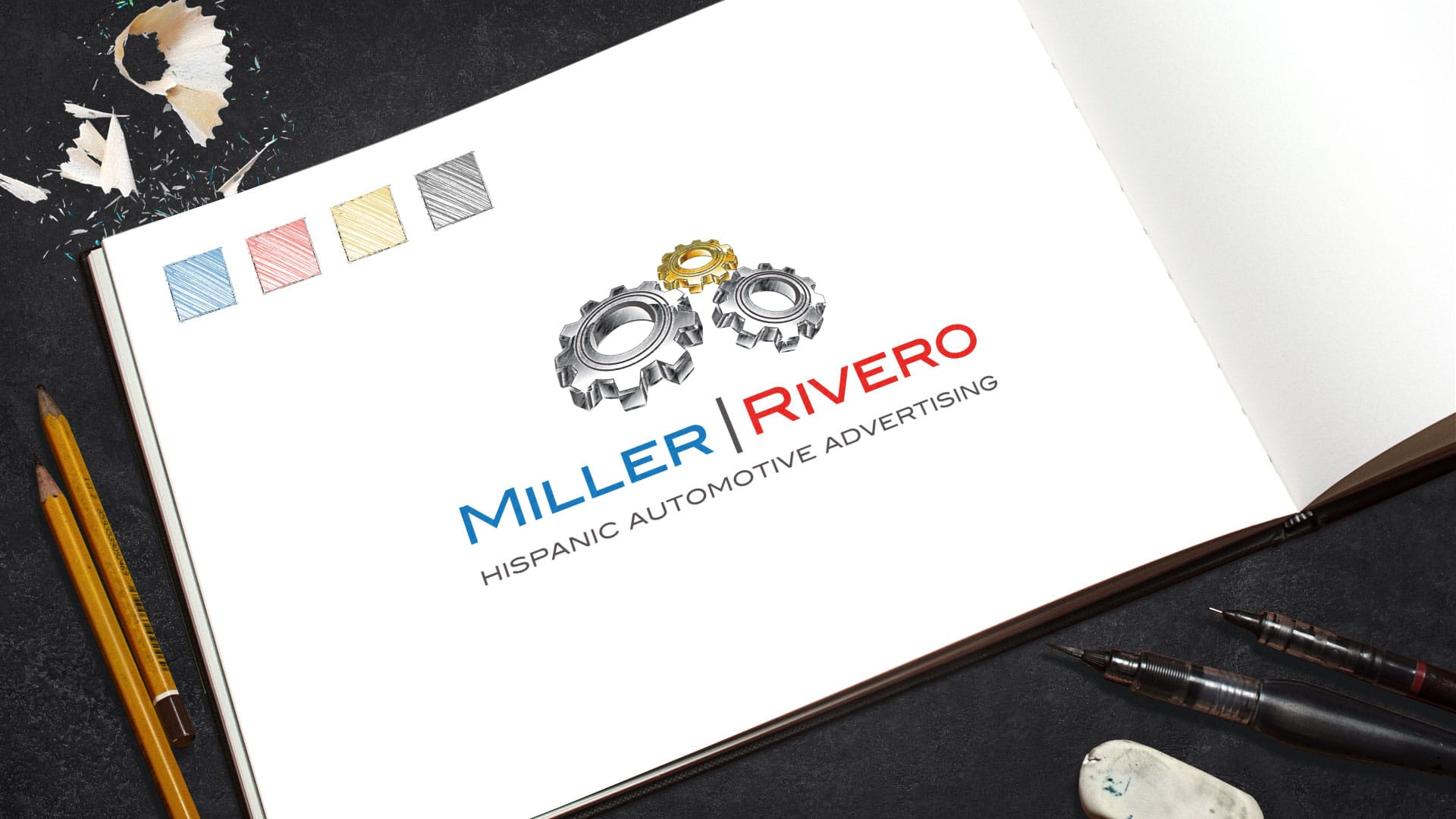Logo Design: Miller Rivero