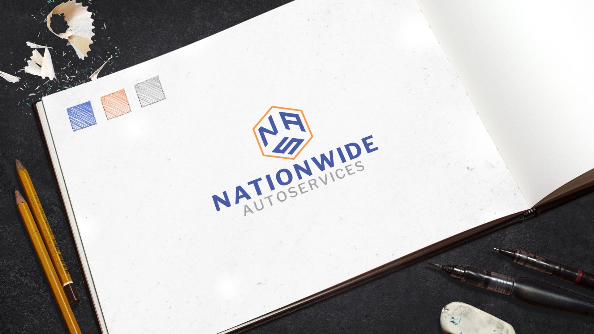 Logo Design: Nationwide Autoservices