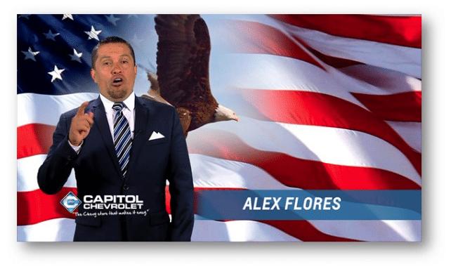 Alex Flores spokesman for Capitol Chevrolet
