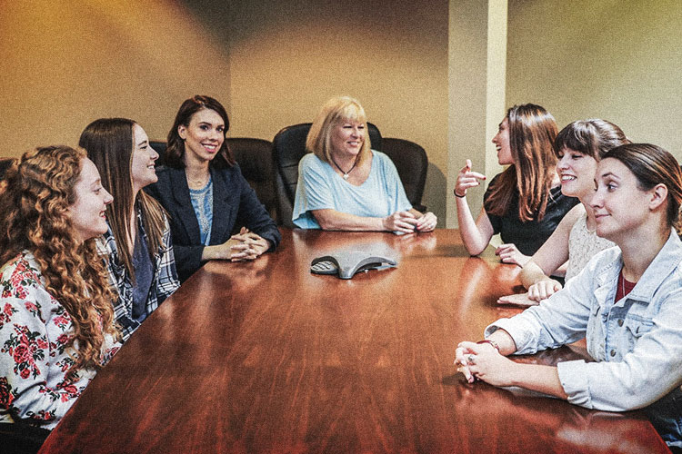 women power at Miller Ad Agency