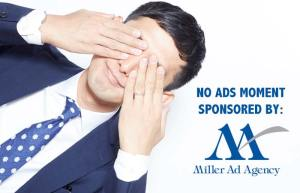 What's the probability of seeing ads today?