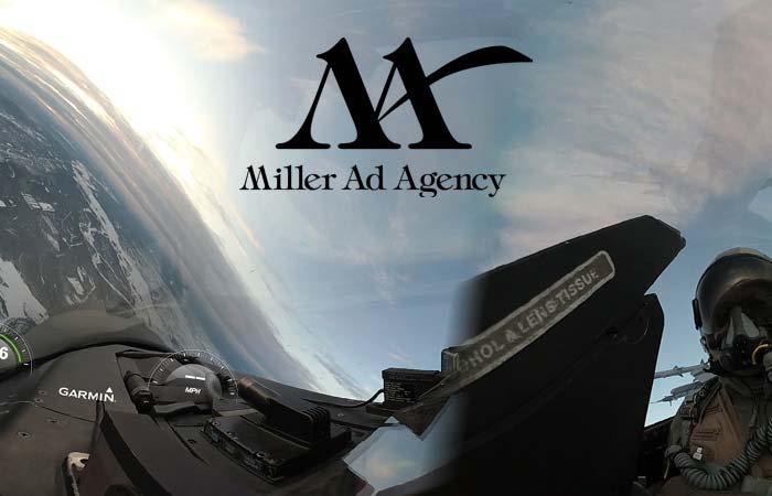 Jeff Bolton and Miller Ad Agency Fly High