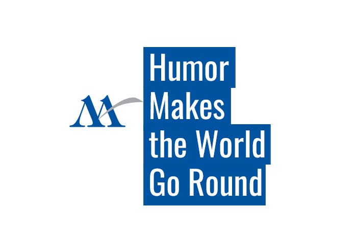 humor makes world go around