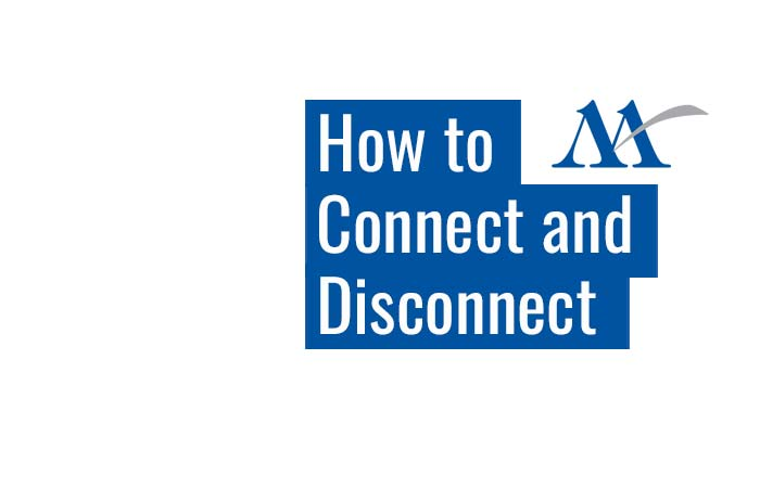 miller blog how to connect and disconnect