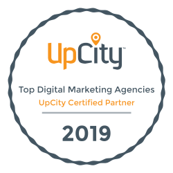 Top Digital Marketing Agencies 2019 UpCity Certified Partner award