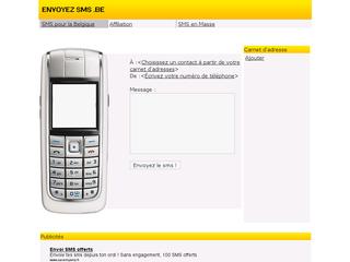 sms gratuits en belgique envoyer sms par internet. Black Bedroom Furniture Sets. Home Design Ideas