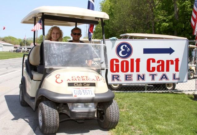 Es PutinBay Golf Carts is Open