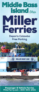 Miller Ferries to Middle Bass Island Ohio