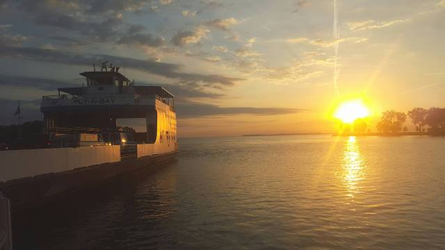 Miller Ferry Catawba Dock sunrise