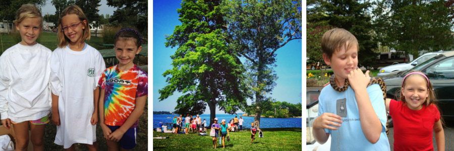 Environmental Nature Camp at Put-in-Bay for ages 9 - 10