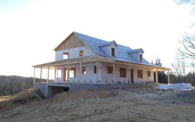 Concrete Wraparound Porch