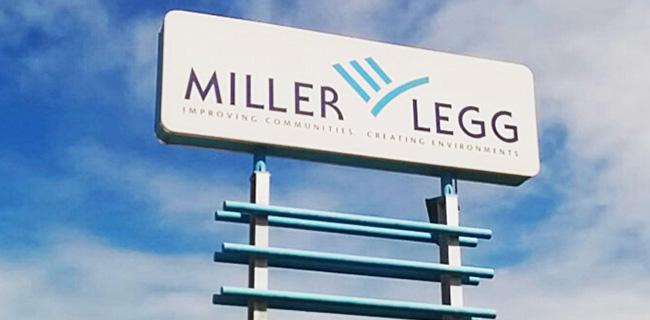 Miller Legg's Sign at Fort Lauderdale Location