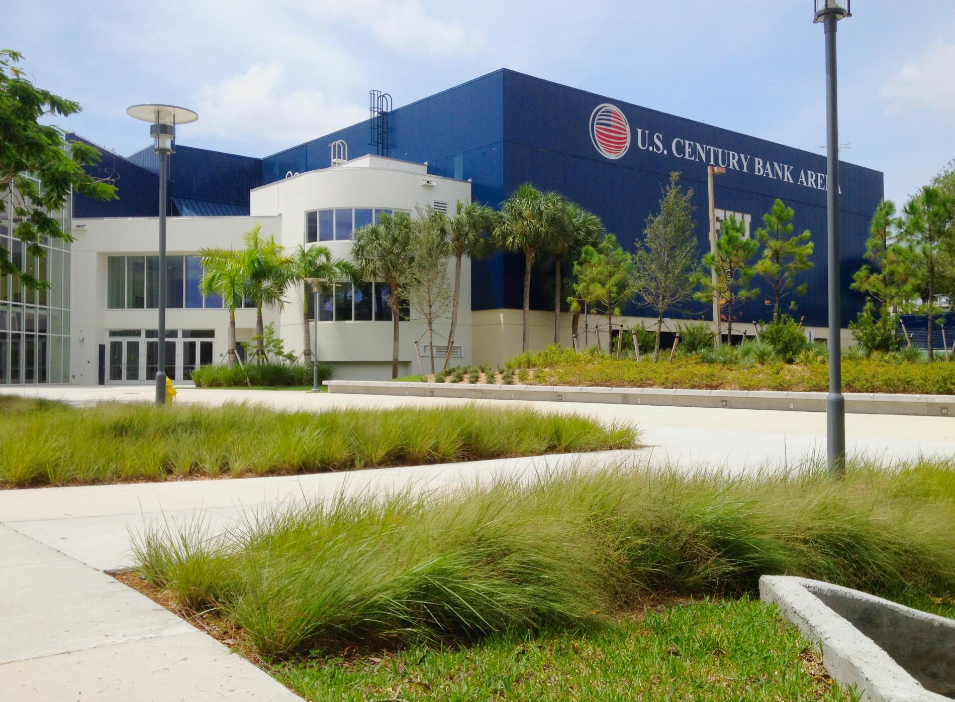 FIU Century Arena / Panther Plaza Walkway