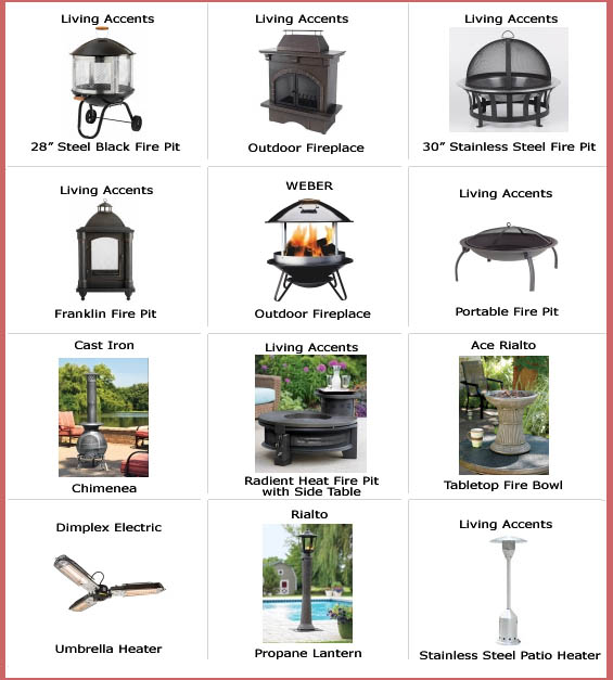 Miller Supply - Ace Hardware - Firepits, weber fireplaces ... on Propane Fire Pit Ace Hardware id=48288