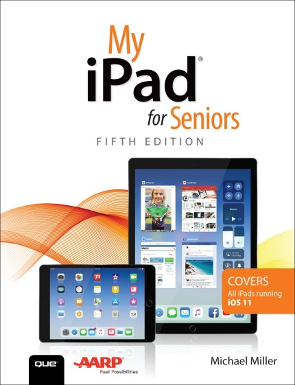 My iPad for Seniors cover