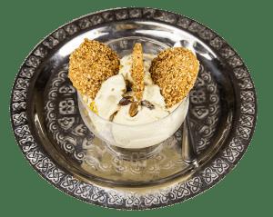 Maamoul con gelato